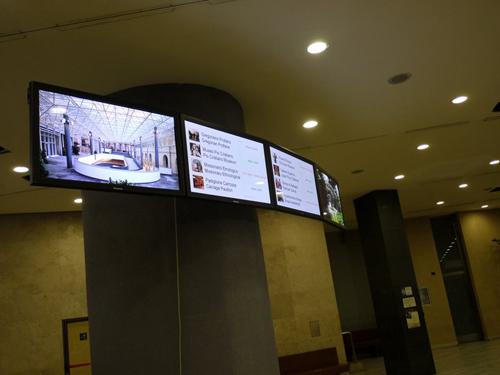 El plasma de Panasonic, nueva incorporación en el Museo Vaticano