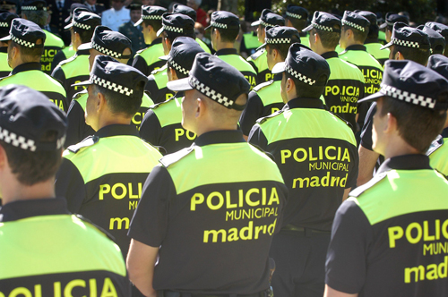 Policía local de Madrid