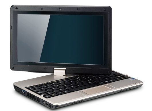 Netbook convertible Gigabyte T1005P