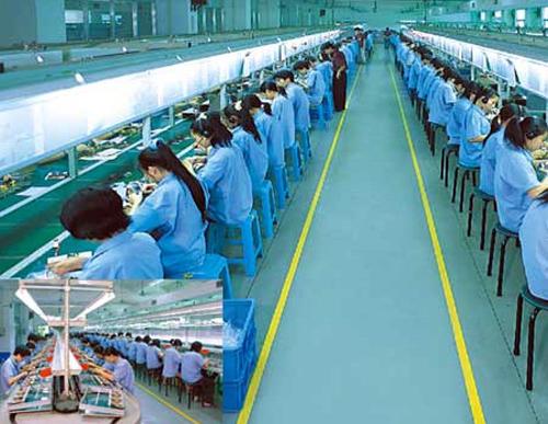 Trabajadores Foxconn