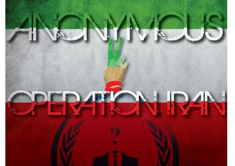Anonymous ataca servidores del gobierno de Irán