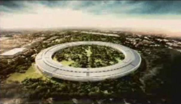 Jobs planea un impresionante campus Apple para 12.000 empleados