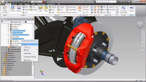 Seminario on-line sobre Diseño Mecánico 3D con Autodesk Inventor