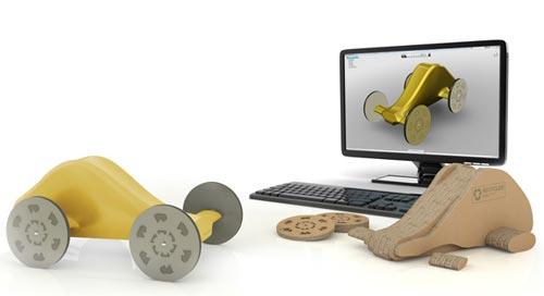 Autodesk lanza 123D, el software gratuito de diseño 3D para todos los públicos