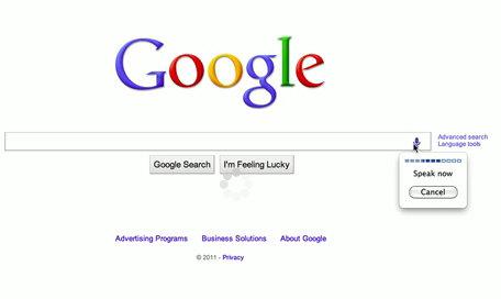 Google traslada al PC las búsquedas por reconocimiento de voz e imágenes
