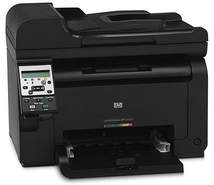 HP LaserJet Pro 100 color MFP