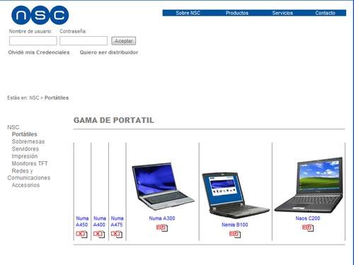 NSC ordenadores