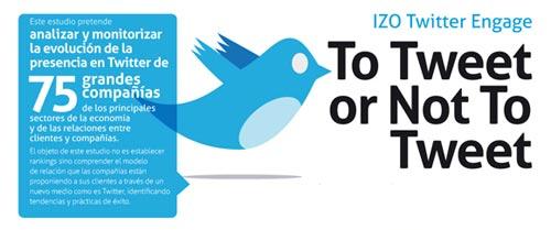 Las compañías españolas no aprovechan el potencial de Twitter, según un estudio
