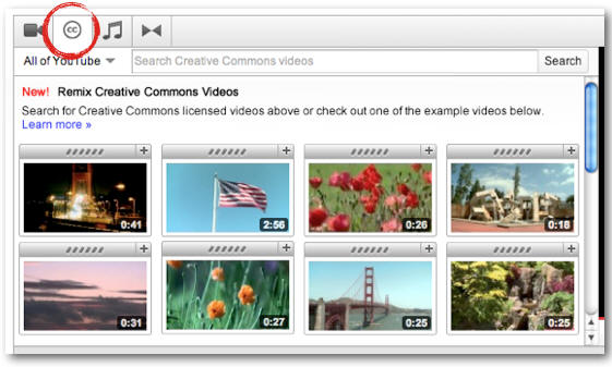 Creative Commons llega a YouTube