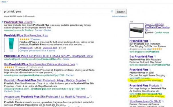 Google podría mostar el rendimiento de Adsense en sus resultados de búsqueda