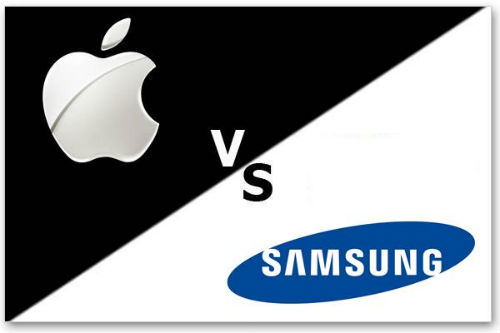 Batalla Apple y Samsung