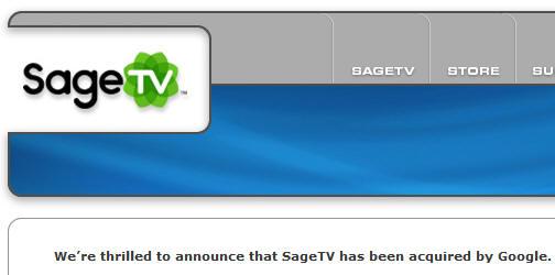 Google adquiere Sage TV