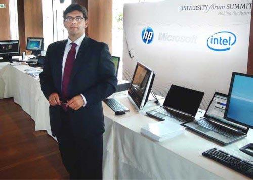 """Salvador Cayón, de HP: """"La tecnología mejora la productividad y por eso la demanda empresarial crece"""""""""""