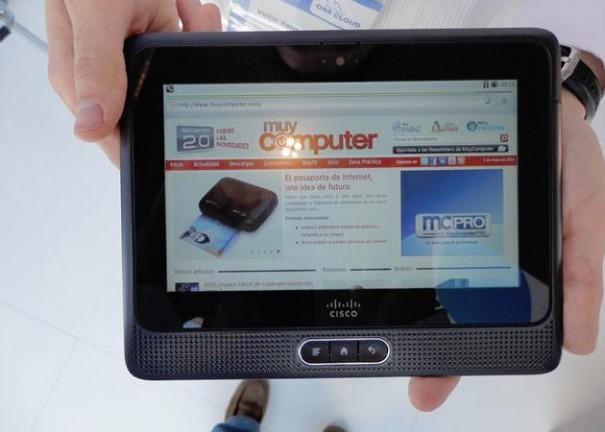 El tablet empresarial Cisco Cius disponible el 31 de julio