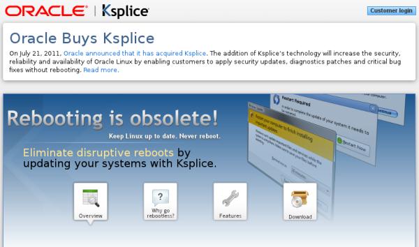Oracle_Ksplice