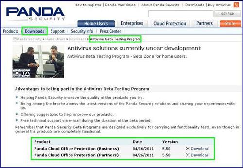Panda Cloud Office Protection 5.50