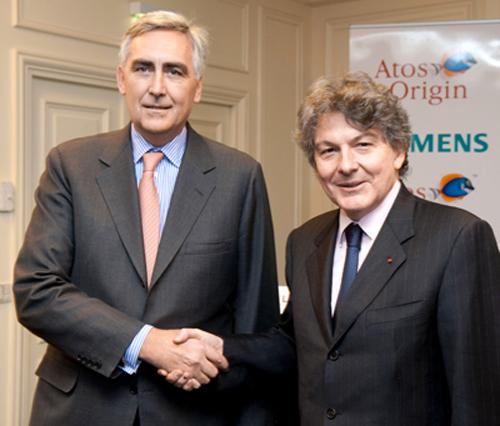 Los accionistas de Atos aprueban la compra de Siemens IT Solutions