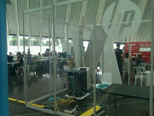 HP, el cerebro de la Campus Party de Valencia