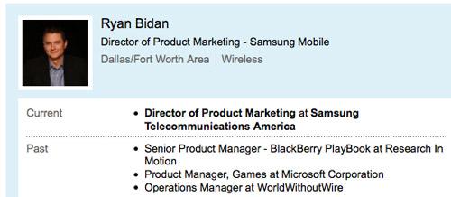RIM pierde a otro de sus principales empleados a favor de Samsung