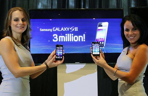 Samsung vende tres millones del Galaxy S II en 55 días