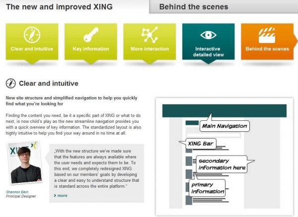 Xing apuesta por un nuevo diseño para competir con LinkedIn