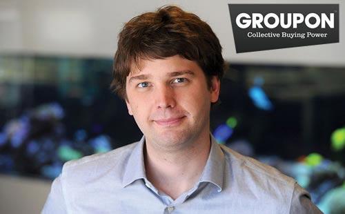 Andrew Mason, CEO de Groupon