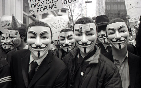 Anonymous anuncia ataque contra Facebook el 5 de noviembre