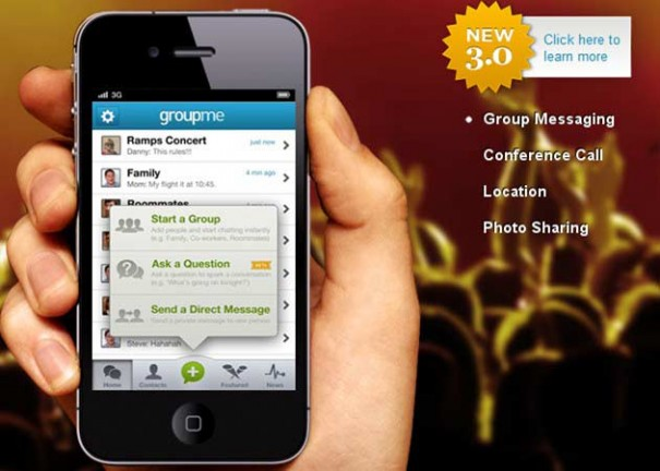 Skype adquiere la desarrolladora de GroupMe