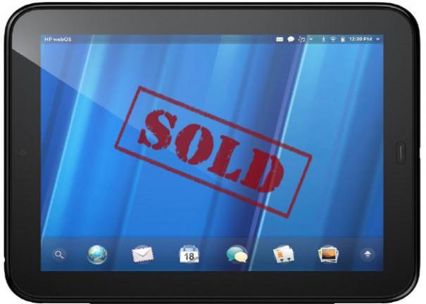 HP webOS arrasa en ventas tras la rebaja de precios