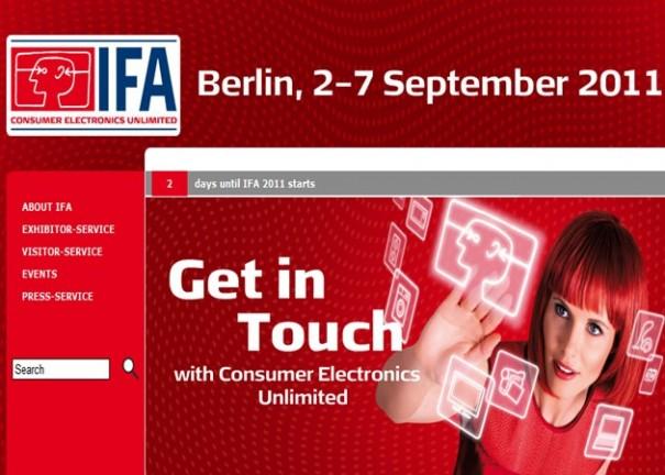 Arranca en Berlín el IFA 2011