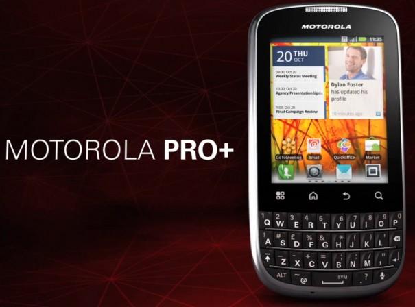 Motorola Pro+, un android contra las BlackBerry