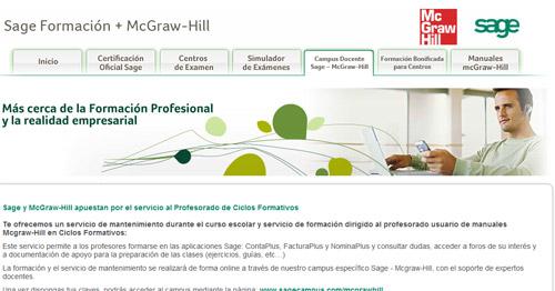 Sage y McGraw Hill apuestan por el profesorado con Sage on-line