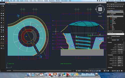 Autodesk presenta la nueva familia 2012 de AutoCAD para Mac