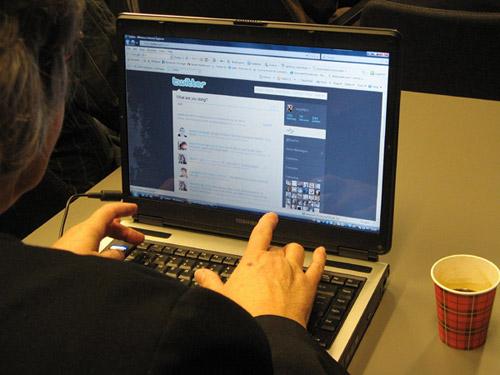 Facebook en la oficina