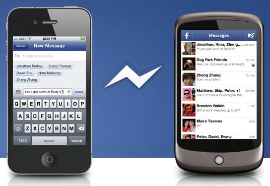 Facebook presenta nuevo Messenger para smartphones