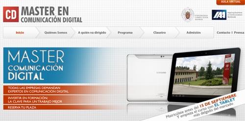 Continúa abierto el plazo para inscribirse en el Máster en Comunicación Digital de la UCM