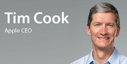 """Apple no va a cambiar"", primer mensaje de Cook"