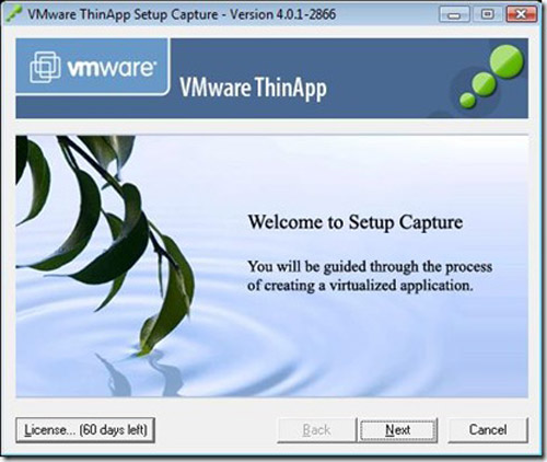 VMware Thin app