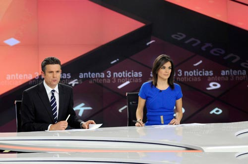 Christie da vida a la pantalla más grande del panorama informativo español