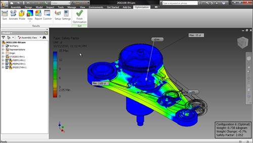 Autodesk Inventor Optimization