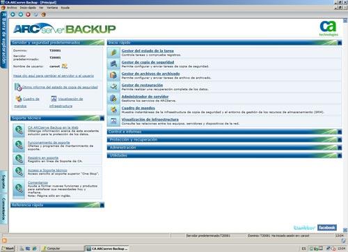 CA Tecnologies presenta CA ARCserve 16