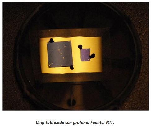 Avances con grafeno, clave en la electrónica del futuro