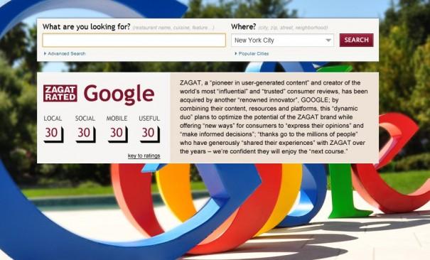 Google compra Zagat para llevar a Internet sus guías de ocio