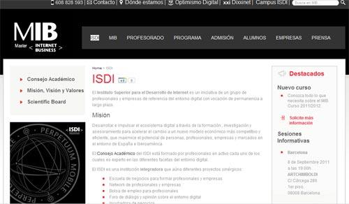 El ISDI continía con su línea de servicios para emprendedores digitales