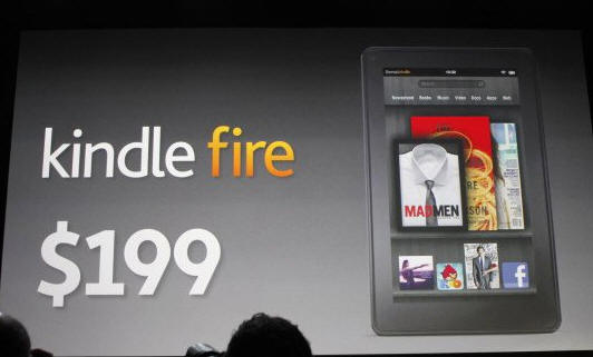 Amazon Kindle Fire, tablet Android barato a la caza del iPad