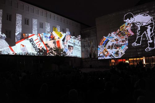Xtrañas confía en el LCD de Christie para un nuevo mapping en Valladolid