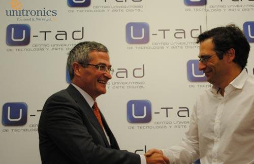 """La empresa Unitronics acoge el """"I Encuentro Digital U-tad"""""""