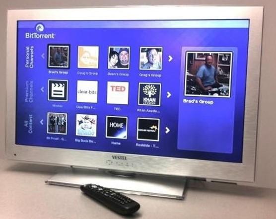El P2P llega al televisor de la mano de BitTorrent y Vestel