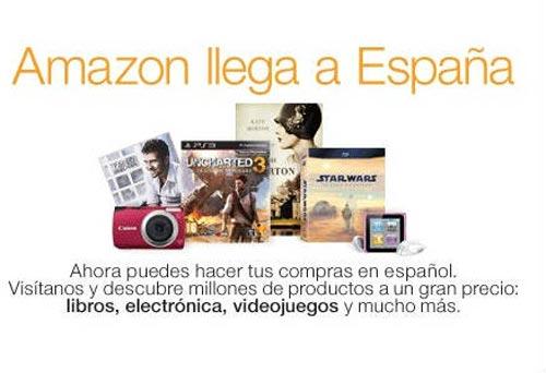 La tienda on-line de Amazon ya opera en España