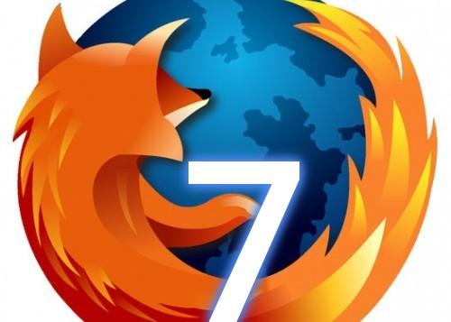 Disponible Mozilla Firefox 7